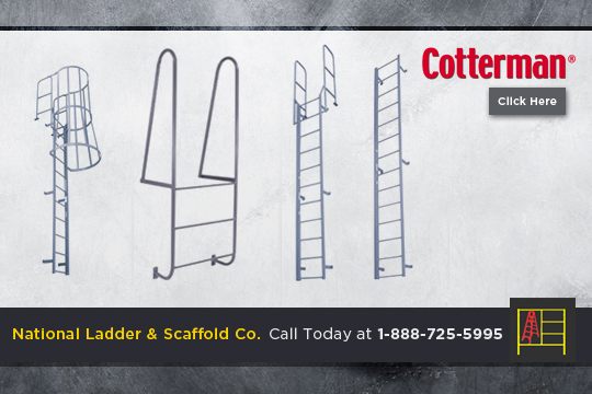 Fixed Steel Ladder
