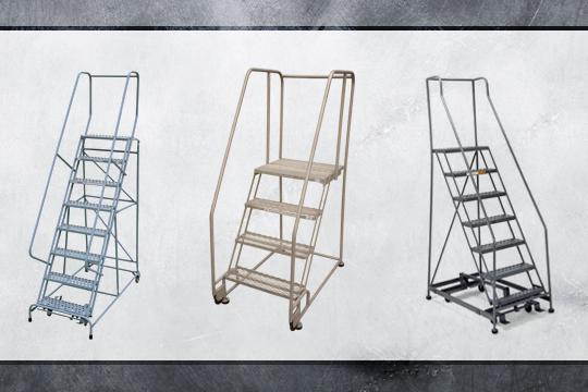 Heavy Duty Rolling Ladder