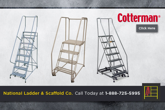 Heavy Duty Rolling Ladder