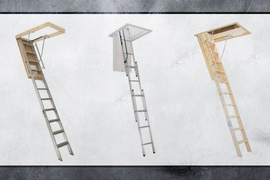 Stair Ladder (Attic Ladder)