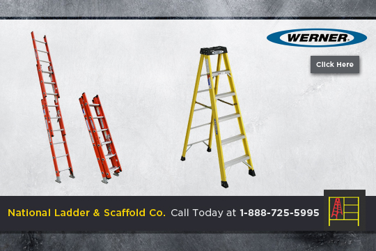 The Contractors Council Tag New Werner Fiberglass Ladder
