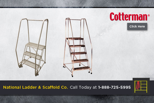 Safety Angle Rolling Ladder