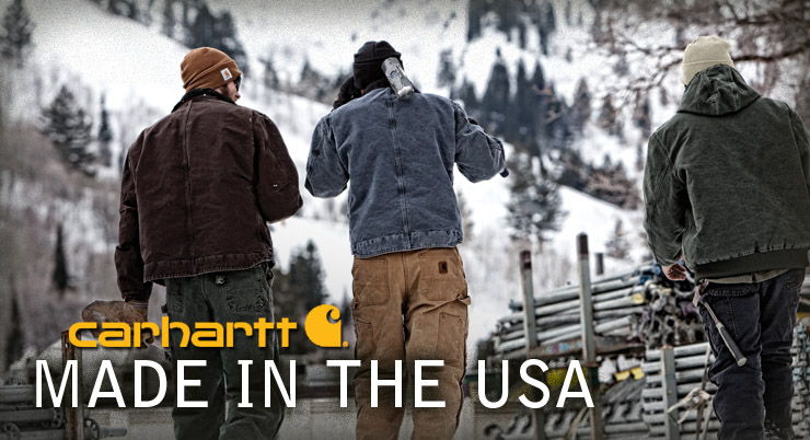 Carhartt Made in the USA Products